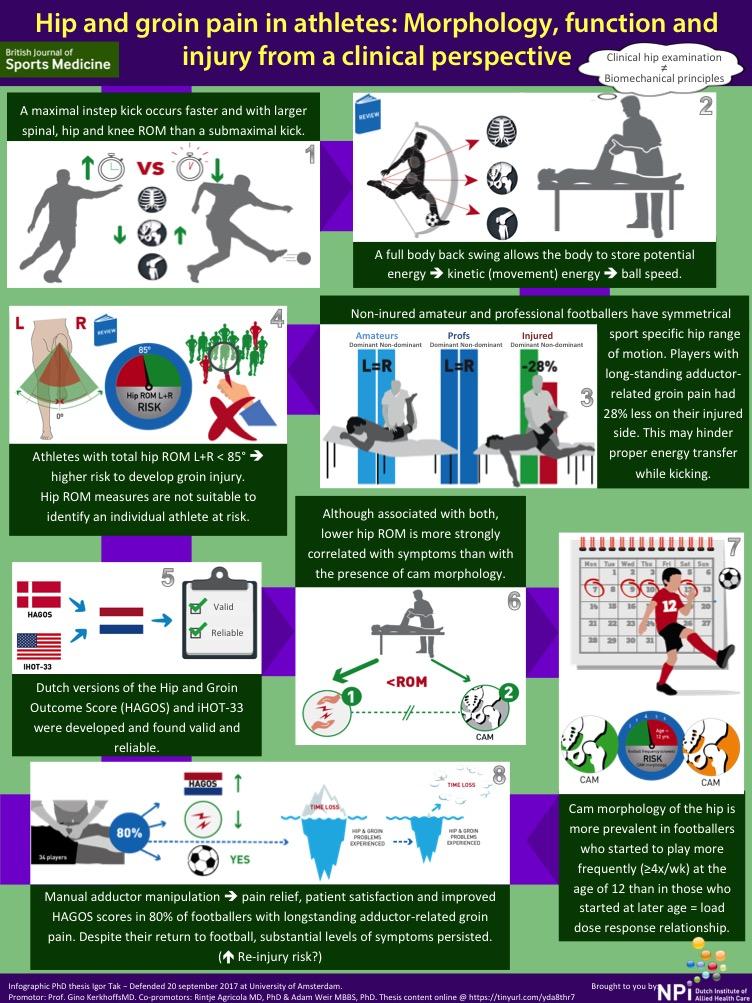 Fysiotherapie Utrecht Oost Infographic Thesis Igor Tak